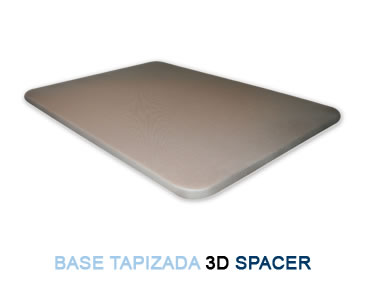Base tapizada 3D SPACER