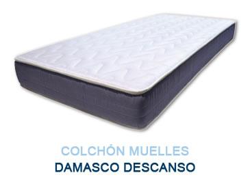 Colchón muelles DAMASCO DESCANSO - Colchones Grupo Descanso