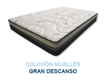 Colchón muelles GRAN DESCANSO - Colchones Grupo Descanso