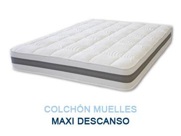 Colchón muelles MAXI DESCANSO - Colchones Grupo Descanso