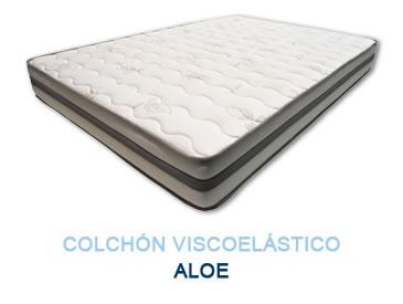Colchón viscoelástico ALOE - Colchones Grupo Descanso