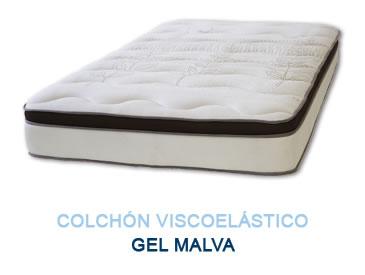 Colchón viscoelástico GEL MALVA - Colchones Grupo Descanso