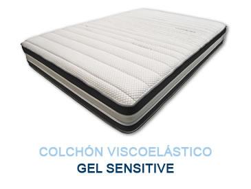 Colchón viscoelástico GEL SENSITIVE - Colchones Grupo Descanso
