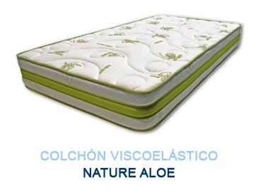 Colchón viscoelástico NATURE ALOE - Colchones Grupo Descanso