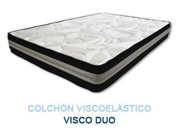 Colchón viscoelástico VISCO DUO - Colchones Grupo Descanso