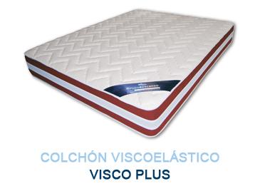 Colchón viscoelástico VISCO PLUS - Colchones Grupo Descanso