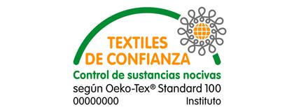 Certificado Textiles de confianza Oeko-Tex Standard 100